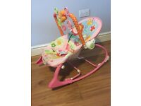 Fisher price baby rocker / like bouncer chair infant to toddler
