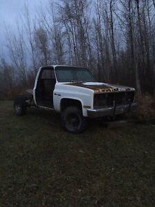 1986 parts truck