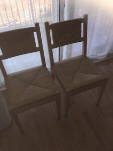 IKEA table with two chairs  London Ontario image 2