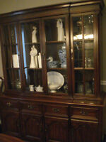 """MUST SELL Gibbard """"Legacy Collection"""" Cherry Buffet & Hutch"""