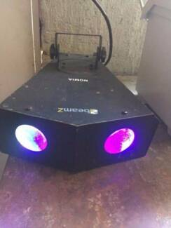 Beamz LED double moon light for party DJ gear