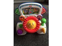 Fisher Price Laugh and Learn Driver Toy