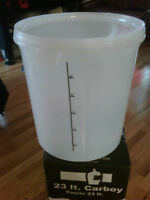 New Primary Fermenter - 32 lt. with Lid - Opaque