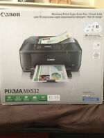 Canon Pixma MX532 all in one printer