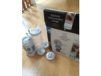 Mini smoothie maker classic cuisine boxed with instructions