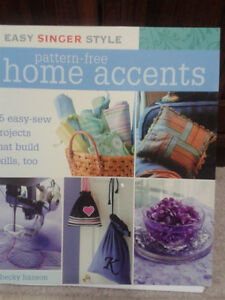 SINGER HOME ACCENTS BOOK