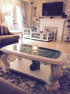 Sloid wood gorgeous coffee table