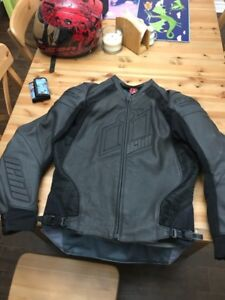 Icon Hypersport Prime leather jacket. So. L