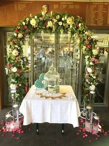 Classic Floral Wedding Archway - JUST BRIDES Rossmoyne Canning Area Preview