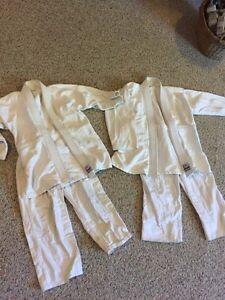 2 Judo Gis size 0&1