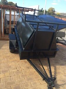 7 x 4 Galvanised Tradesmen Trailer with Rego Gosnells Gosnells Area Preview