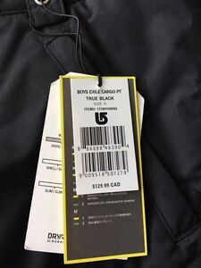 Brand new with tags Burton snowboard pants  Strathcona County Edmonton Area image 3