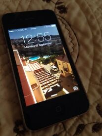 iPhone 4 black fully working