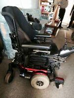 Quantum 610 Power wheelchair with new batterys