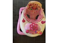 Walker girly pink £30