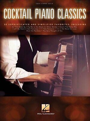 Cocktail Piano Classics Sheet Music Easy Piano SongBook NEW 000154027
