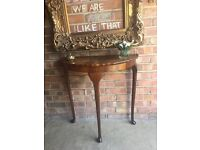 WEEK END SALES CONSOLE TABLE FREE DELIVERY