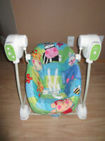 Fisher price swing in grea condition
