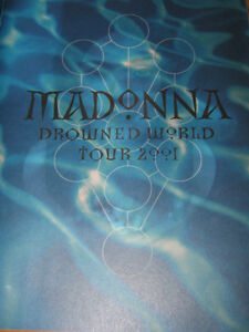Madonna - Official Program - Drowned World Tour 2001 Kitchener / Waterloo Kitchener Area image 2