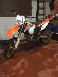 2014 KTM XCF-W 250 trade for decent wheeler or sell for 5500$