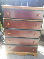 hardwood  dresser soild