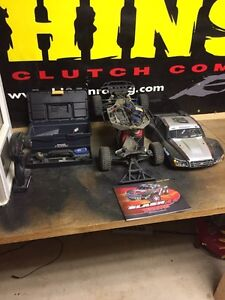 Traxxas Slash 4x4 3S lipo included/Revo parts lot.