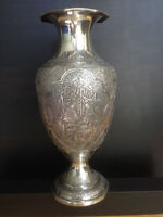 Hand Crafted Sterling Silver Vase