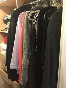 Spring cleaning! Tshirts, jackets, trousers, shoes