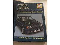 Ford Fiesta service and repair manual 1986 - 1985