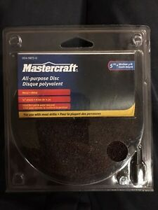 """5"""" Sanding Disc for drills. Great for body work. $7 each."""