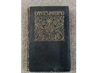 Dante's Inferno Rare Book