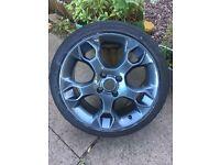 "Ford Fiesta Zetec s alloy wheel 17"""