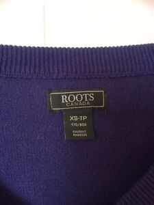 Blue roots canada v neck sweater  London Ontario image 1
