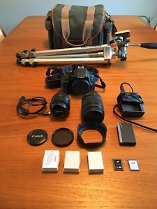 Cannon T4i DSLR Package w/ Sigma multi zoom lens
