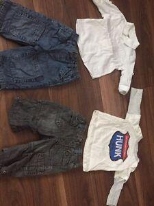 Deux ensembles pantalon mexx 3-6 mois
