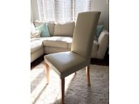 6x Faux Leather Dining Chairs | £20 ea