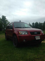 Ford  escape limited 2006 For trade