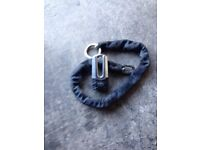 Krall lock and chain with one key £20