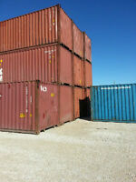 CONTAINERS / SEACANS IN WINNIPEG - BLOW OUT OF 40FT USED