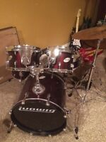 Ludwig Drums Youth / Jr.  Used for two lessons
