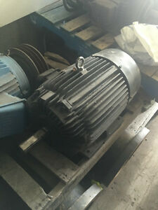 15 HP Teco Electric Motor