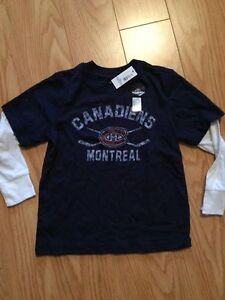 New Montreal Canadiens shirt 5T
