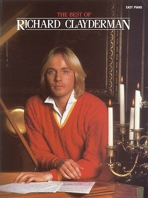 The Best of Richard Clayderman Sheet Music Easy Piano Book NEW 000356388