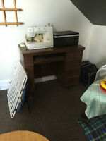 Kenmore Sewing Machine and Sewing Table