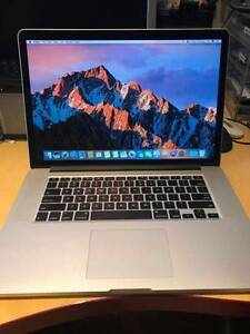 perfect prestige condtion MacBook Pro 15 inch 2014 model i7 cpu Rockdale Rockdale Area Preview