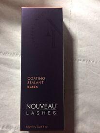 Nouveau lashes coating sealant black