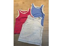 3 x boys 'next' sleeveless vests excellent condition. Size 12-18mths