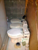Compost toilet system  BRAND NEW NEVER USED