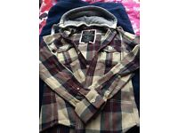 Superdry thick shirt/hoody