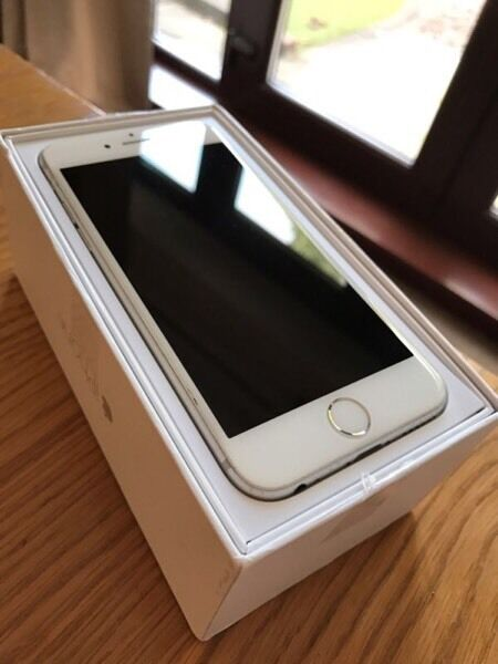 APPLE IPHONE 64gb AS NEWNOT CONTRACTin Broughty Ferry, DundeeGumtree - For sale is my iPhone 6 64gb in silver and white , comes in original box with all accessories , this phone is 3 months old and not in contract, still has 9 months apple warranty remaining , open to any network as purchased through apple , never been...